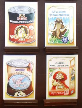 Les Cartes postales de la collection des pubs